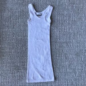 Elan White Knit Bodycon Dress Size XS/S